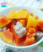 木瓜炖排骨的做法