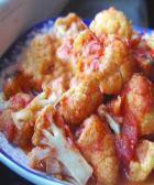 番茄拌菜花的做法_怎么做番茄拌菜花_如何做番茄拌菜花