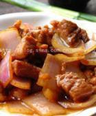 洋葱炒牛肉的做法
