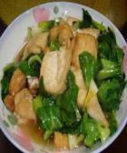 白菜炒豆腐的做法