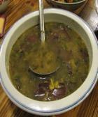 酸菜血旺汤的做法