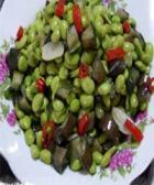 青豆炒茄丝的做法