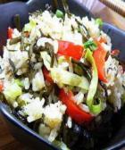 海带丝拌白菜的做法