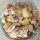 小鸡炖土豆的做法