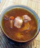 枸杞子牛肝汤的做法