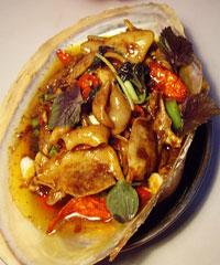 炒河蚌肉片的做法_怎么做炒河蚌肉片_如何做炒河蚌肉片