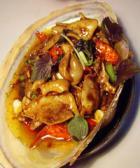 炒河蚌肉片的做法