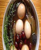 艾叶姜蛋的做法