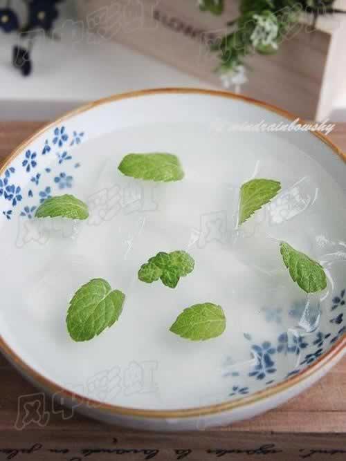 玻璃粉的做法(适合减肥族的甜点-绝对低脂)