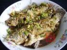 青椒焖臭桂鱼的做法