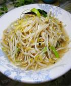 虾皮炒绿豆芽的做法