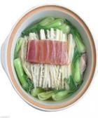 陈皮油菜大鸭煲的做法