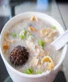 冬菇鳝片粥的做法