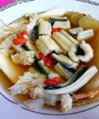 金针菇炖鳗鱼的做法