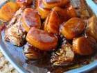小黄鱼烧年糕的做法