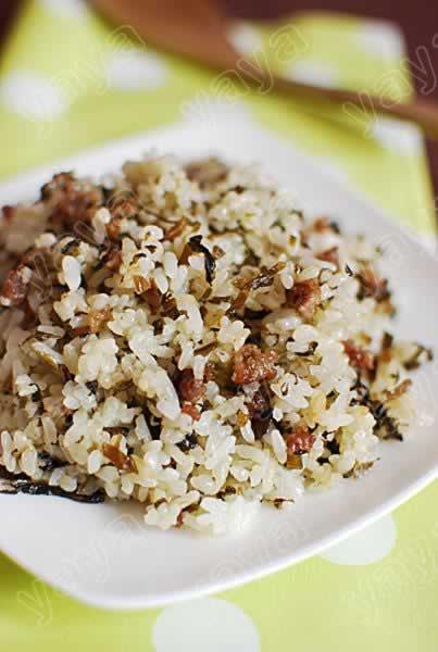 做,做芽菜鲳鱼炒饭,图解详细肉末白步骤回奶吗图片