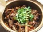 腐竹煲仔焖鹅的做法