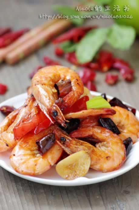 香辣脆皮虾的做法(海鲜家常菜)