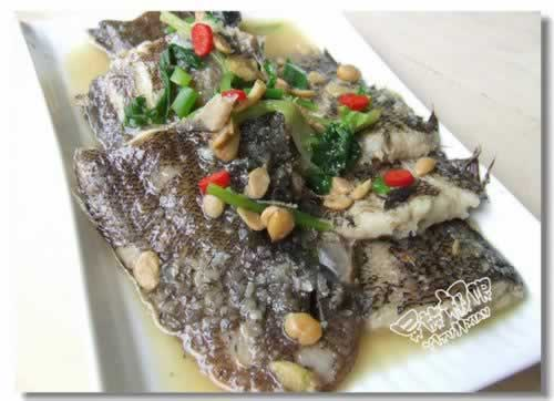 豆酱水煮鱼的做法(荤菜-潮州菜)