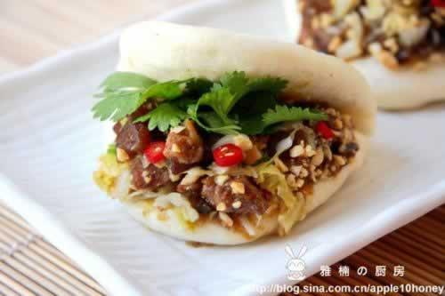 刈包的做法(早餐菜谱-台湾古早味)