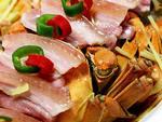 如何做,怎样做花雕咸肉蒸大闸蟹,图解详细步骤