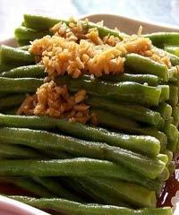 凉拌菜豆的做法
