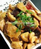 蚝油煎双菇的做法