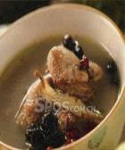 黑豆莲藕鸡汤的做法