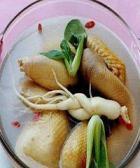 沙参玉竹煲鹅肉的做法
