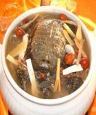 天麻当归水鱼汤的做法
