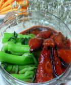 鹿茸香菇菜心的做法