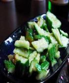 熏鸡拌黄瓜的做法