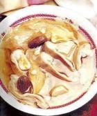 槐花猪肚汤的做法
