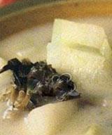 雪菜冬瓜汤的做法
