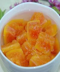 冰糖炖木瓜的做法