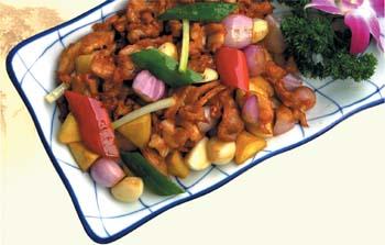 红葱头沙姜焗鸡的做法