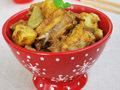咖喱排骨炖土豆