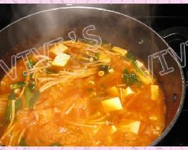 韩国辣酱豆腐汤的做法