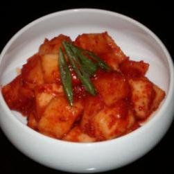 韩国萝卜泡菜的做法