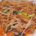 泡菜炒芽菜的做法
