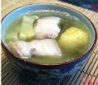 冬瓜扁豆猪骨汤的做法