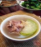 猪骨节瓜汤的做法