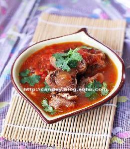 美味牛尾汤的菜谱_做法番茄汤做_牛尾粥番茄每日古代图片