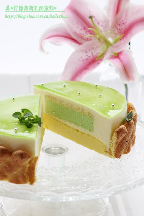 柠檬薄荷乳酪蛋糕的做法(早餐菜谱-适合夏季享用的清凉解暑蛋糕)