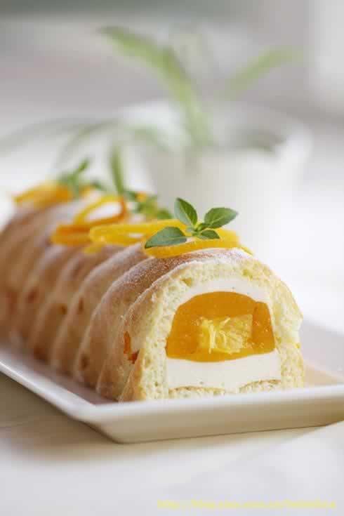 香橙慕斯的做法_香橙乳酪慕斯的做法(甜品)