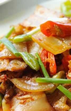 旱蒸回锅肉的做法