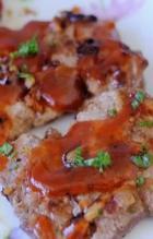 蒜香红酒烤猪排的做法