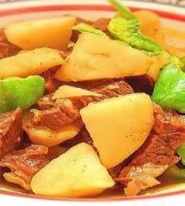 腊牛肉烧土豆_腊牛肉烧土豆的做法_腊牛肉烧土豆怎么做的做法