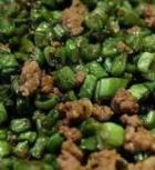 酸豆角炒肉粒的做法