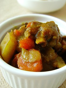 韩式鸡肉炖土豆的做法
